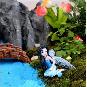 Fada Para Jardim Terrários Enfeites Miniaturas