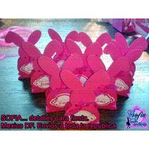 30 Cajas Conejito, Baby Shower Dulcero Personalizado, Zoo