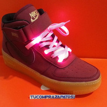 Trenzas Led Para Zapatos Nike Force One Dama Y Caballero