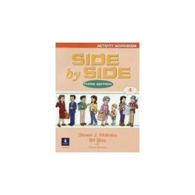 Libro Side By Side 4 Cuaderno Activity Workbook *cj