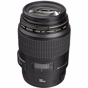 Lente Canon Ef 100mm F/ 2.8 Macro Usm P/ Dentista, Ultra