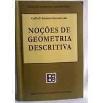 Noções De Geometria Descritiva - 8570112041