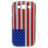 Back Cover Samsung Galaxy S3, Bandeira Estados Unidos