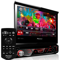 Dvd Player Pioneer Automotivo Retrátil 7 Pol Avh 3880dvd