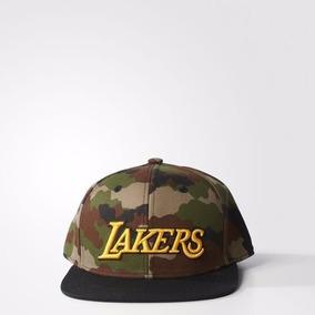Gorra Nba La Lakers Camuflada Adidas. Importada.