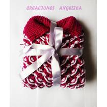 Poncho/chompa Para Niñas Tejito A Crochet Colores Regalo