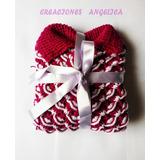 Poncho/chompa/abrigo Niños/bebe Tejito A Crochet Cisne Color