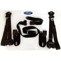Kit De Cinto De Segurança Retrátil Ford Pampa