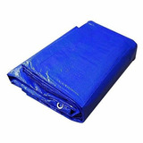 Lona Azul Plastica Impermeavel Carros Festa Telhado 3x2 Mts
