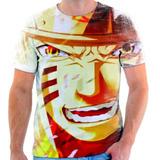 Camisa, Camiseta Anime Naruto Shippuden Minato Namikaze 67