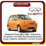 Chery Qq3 Qq Despiece Numero Partes Programa Interactivo