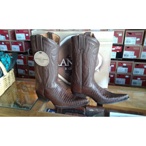 Bota Vaquera Lizard Café Rancho Boots
