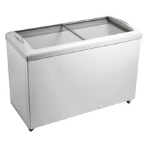 Freezer Horizontal Tampa De Vidro 336 Litros 110v Metalfrio