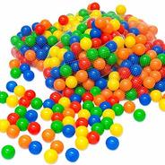 Bulto 500 Pelotas Piscina Paquete Colores Excelente Calidad
