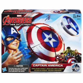 Capitan America Escudo De Ataque Con Lanzador Educando