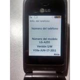 Celular Lg A255 Movistar! Muy Buen Estado En Quilmes.