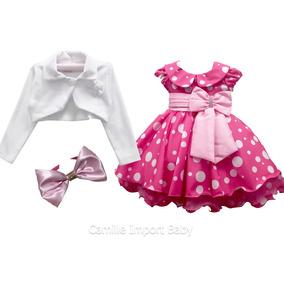 Vestido Gata Gatinha Marie Minnie Festa Infantil Com Tiara