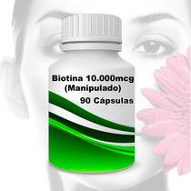 Biotina 10.000mcg 90 Cápsulas (manipulado)