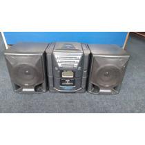 Grabadora Jvc Con Cassetera,cd,radio Am,fm Mod Pc-x202