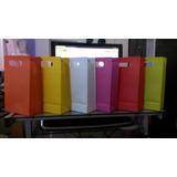 Bolsas Unicolor Cotillones Variedades Colores 7.5x 15x 24.7