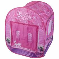 Toca Barraca Infantil Barbie Com Sacola Fun