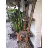 Escalera 4 Estante Pintada. Escandinava Retro Vintage Madera