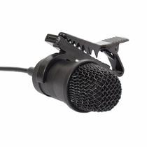 Microfone Condensador P2 P10 Mono C/ Fio Lapela Yoga Sc 401