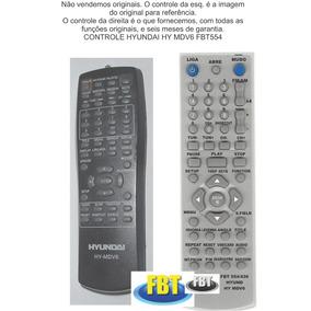 Controle Hyundai Hy Mdv6 Home Theater Fbt554