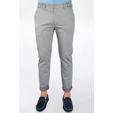 Pantalones Casuales De Cuadros Y Floreados App62