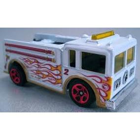 Carrinho Hot Wheels T Hunt Fire Eater-bombeiro Coleção 2013
