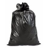 Bolsas Plasticas De Basura Negras 40kg Calibre 12 Paquete