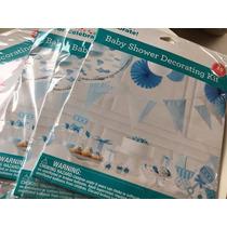 Kit De Decoracion Baby Shower Importado 35 Piezas Cotillon