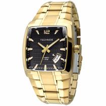 Relógio Technos Masculino 2315kg/4p Dourado Quadrado