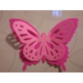Mariposa Monarca Doble Papel Bond Rosa / Rosa. Claro Qmafq
