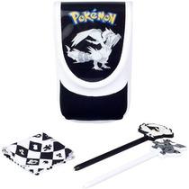Pokemon Blanco Y Negro Juego De Casquillos - Negro (ds Lite