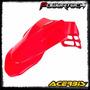 Guardabarro Delantero Acerbis Supermotard - Honda Red