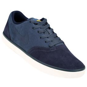 Zapatillas Nike Sb Check (azul-marino) Mpim H