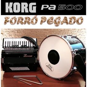 Ritmos Korg Pa500 - Forró Pegado