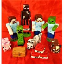 Adorno Torta Minecraft Porcelana Fria