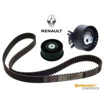 Kit Correia Dentada Tensor Polia Renault Master 2.5 16v Dci
