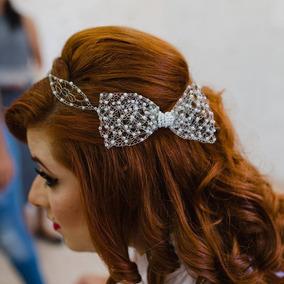 Tiara De Noiva / Tiara De Laço / Grinalda / Acessório Noiva