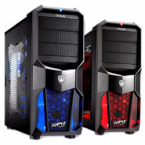 Gabinete Noganet Gamer Extrem 4 Cooler Led Ng-cp626 Usb