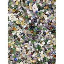 Pedras Rolada Mista 1 Kg Semi Preciosa 2 Cm Atacado Cascalho