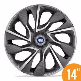 Calota Esportiva 14 Ds4 Sport Cup Para Fiat Novo Palio Uno A