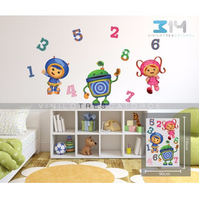 Equipo Umizoomi 01, Vinilo Decorativo, Calcomanía De Pared