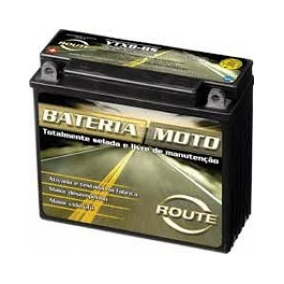 Bateria Route Ytx9 Bs Bajaj Rouser Ns 200 Ktm Duke Fas Motos