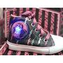 Zapatillas Botitas Con Luces. Monster High Y Barbie