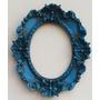 Moldura Oval Espelho 15x18 Cm Colorida - Resina #1360#