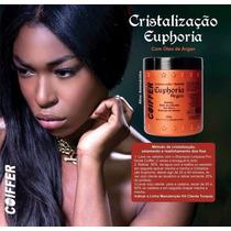 Cristalização Selante Euphoria Coiffer 500g Sem Formol
