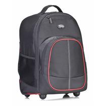 Targus Mala Nb16 Rolling Backpack Tsb75001us Preta/vermelha
